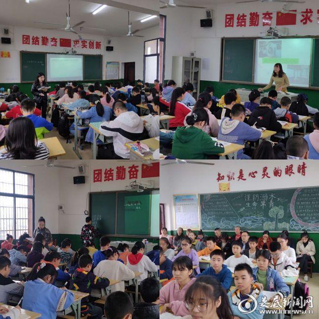青年教师展风采 教学比武促成长——双峰县青树坪中学七年级语文组举行教学大比武