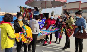 """新疆洛浦:消费扶贫,为农民幸福生活""""下单"""""""