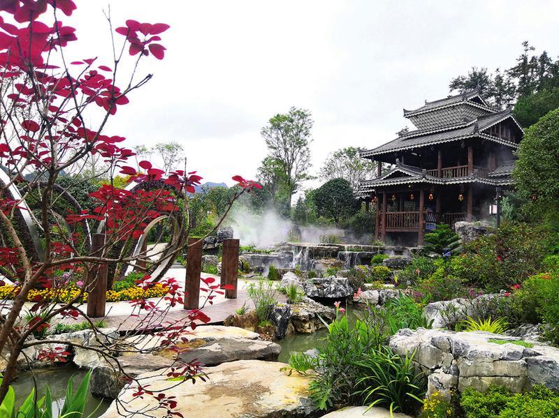 广西园精彩亮相尽显八桂大地森林文化精髓