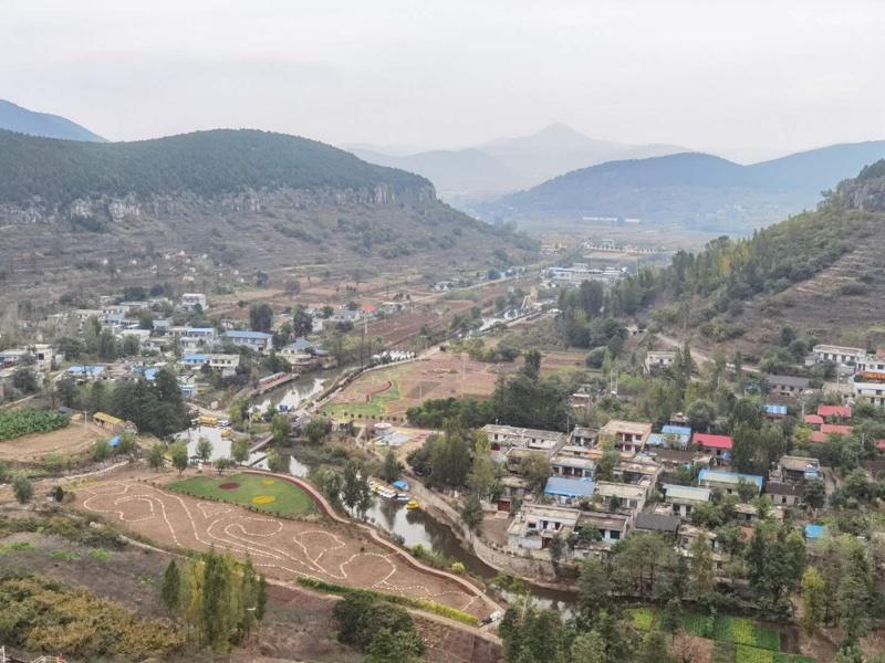 齐鲁晚报 葫芦套村,依托生态资源,打造特色乡村景观