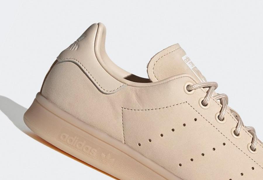 亚麻鞋面彰显规格!全新 adidas Stan Smith 现已发售!