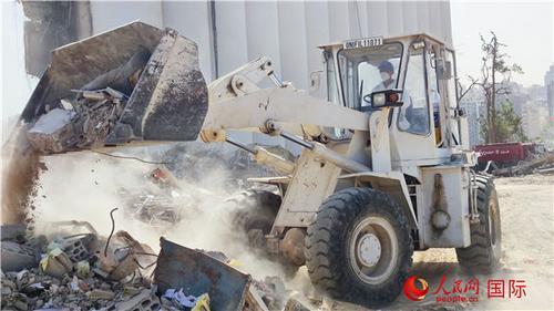 中国赴黎巴嫩维和官兵:见证贝鲁特从废墟走向复苏