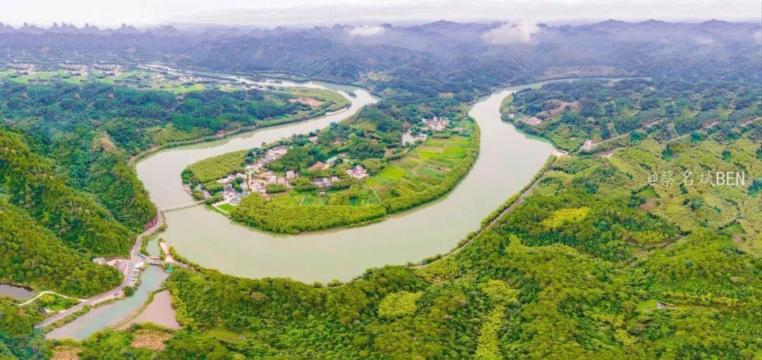 隐藏在丹霞山深处500多年的牛鼻村,宛如世外桃源!