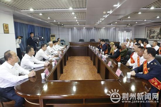 荆州市举办2020年荆州最美退役军人发布仪式