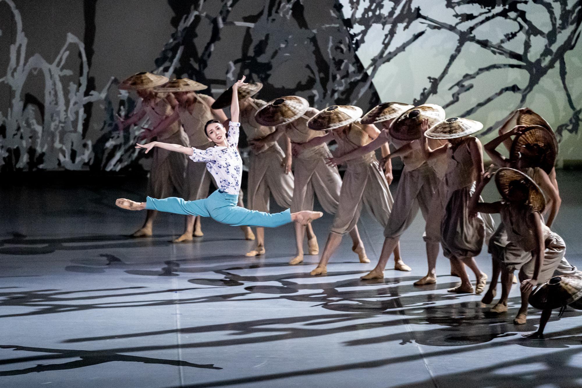 """中央芭蕾舞团双城同""""绽放"""",《花一样开放》首次赴鄂演出图片"""