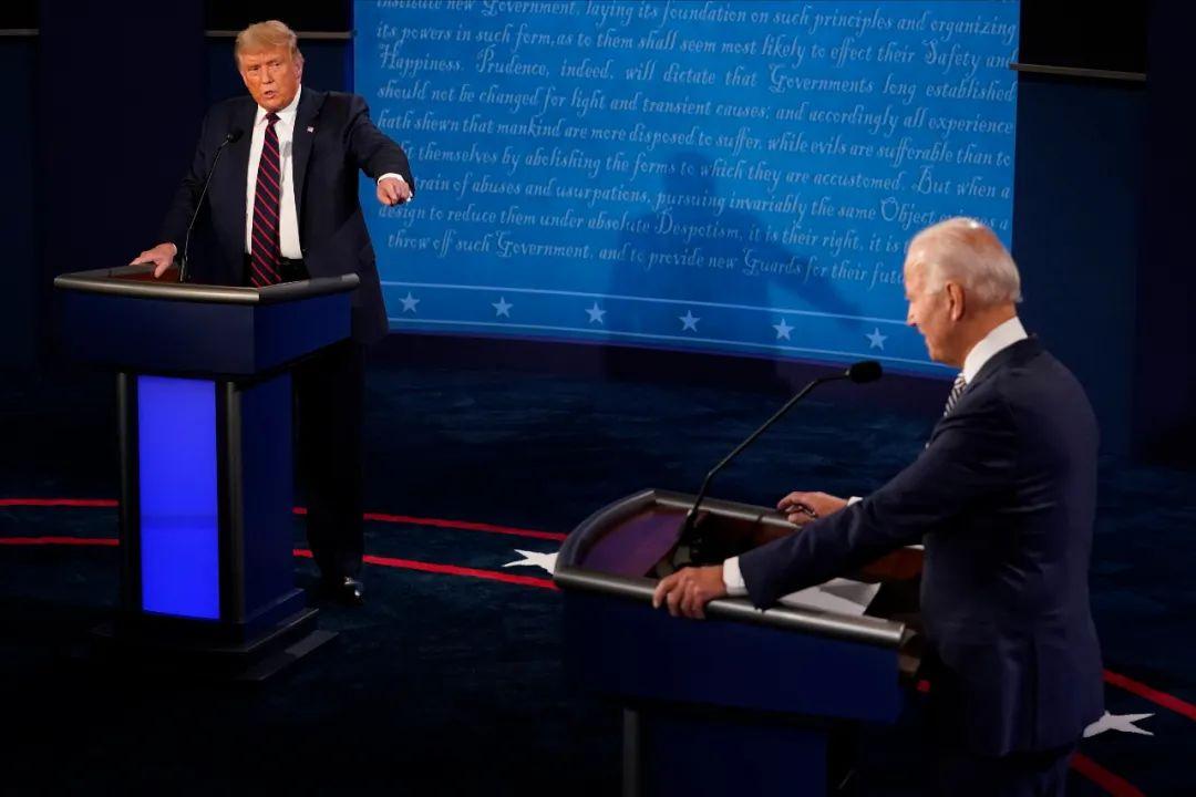 """美国大选首场辩论太""""丢脸"""",主办方有办法了"""