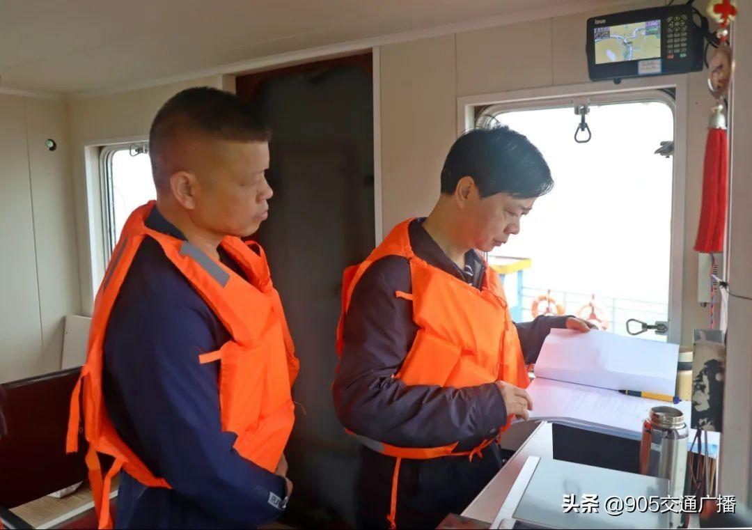 李建斌 湖南水运事务中心主任 监督长沙