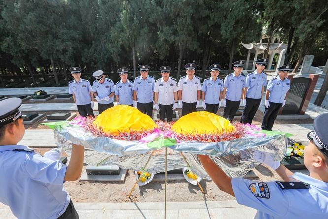 济南铁路公安局开展2020年烈士纪念日活动