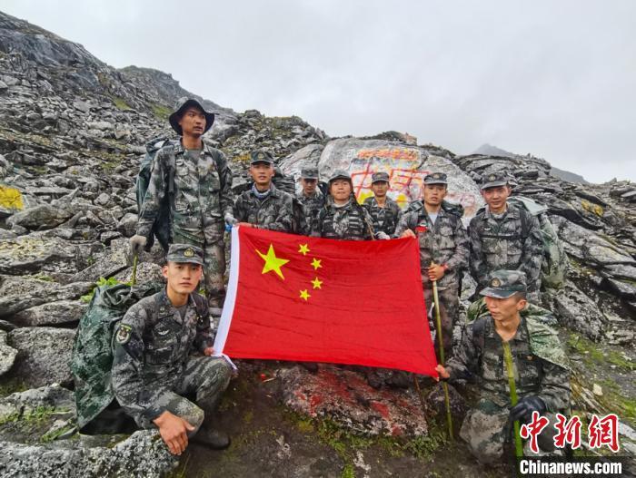 """7天6夜的""""生死巡逻路"""" 西藏军区某旅完成高原无人区既定任务图片"""
