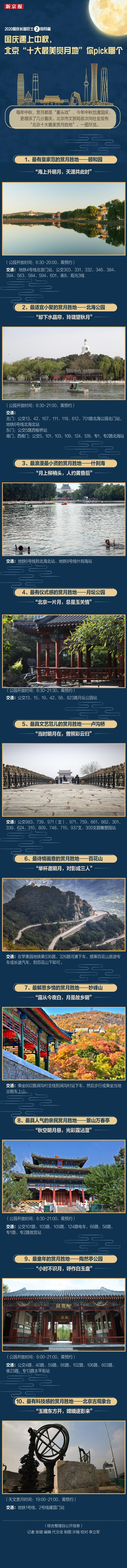 """国庆遇上中秋,北京""""十大最美赏月地""""你pick哪个图片"""