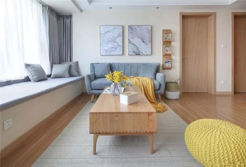太不敢相信了116平三居室,花了8万,还是北欧风格!
