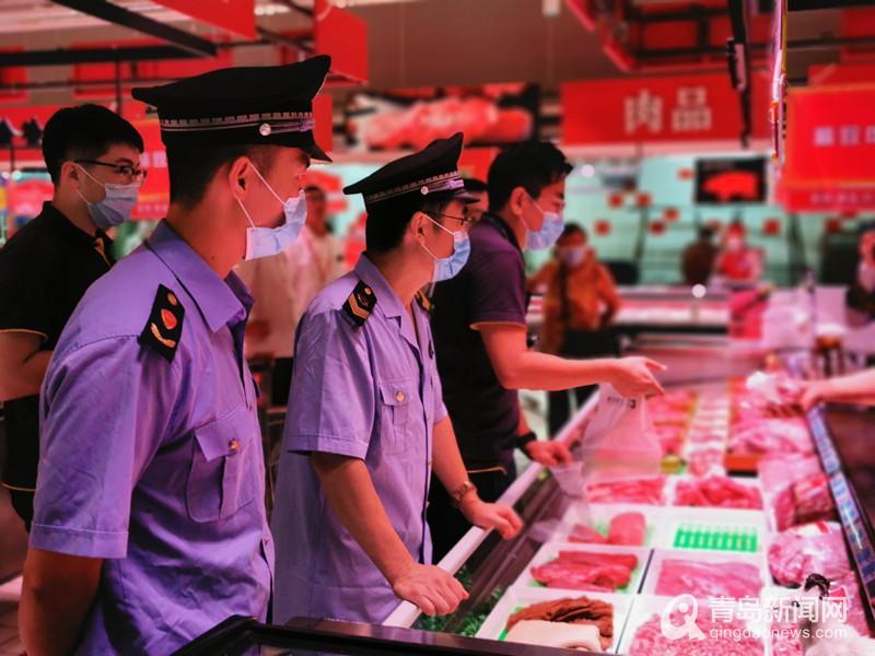 """青岛市市场福利局公布""""十大食品""""抽检"""