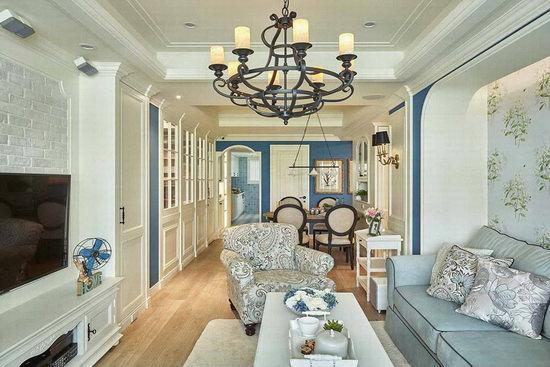 30年老房改造,蓝白色梦幻乡村居,在家享受希腊式度假氛围