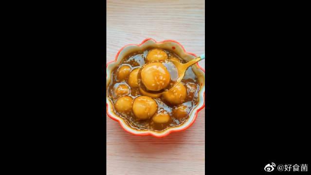 红糖小丸子,创意新吃法,简单又温暖!