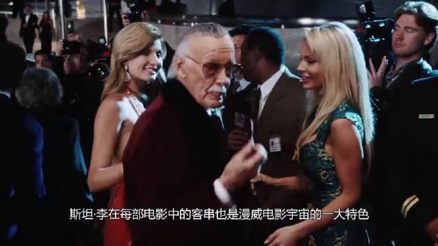 漫威:现实版钢铁侠和电影中的钢铁侠互相握手