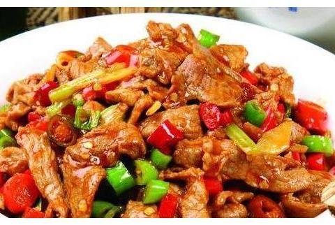 美食优选:小炒牛肉,椰汁豆腐,辣椒牛肉,小炒牛肉的做法