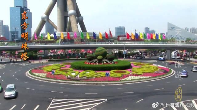 上海旅游必去景点,上海地标东方明珠塔