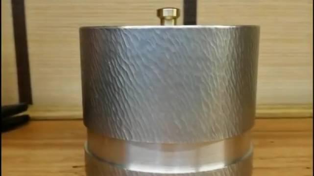 原创 ,专利结构,好玩好用的纯锡茶叶罐