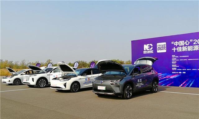 2020年度新能源汽车动力系统评选现场测试