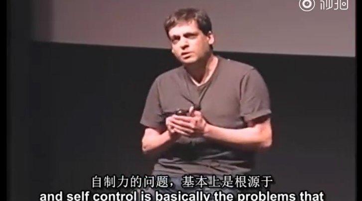 TED演讲:怎样提升自制力?