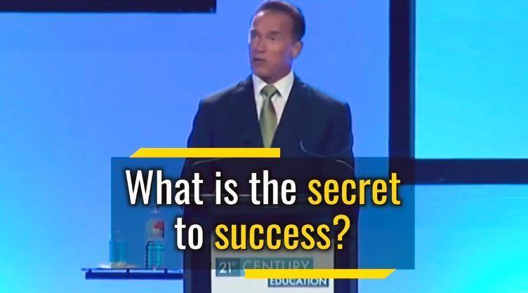 阿诺·施瓦辛格英文演讲:我的5条成功法则