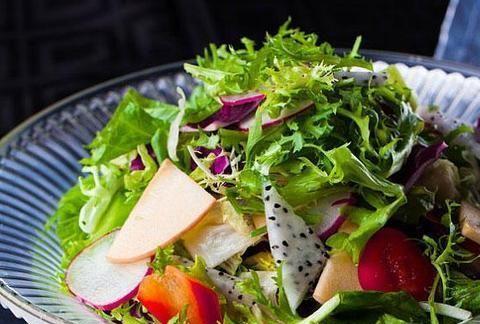 轻食主义的美食,清爽可口,只有新鲜蔬菜才能做出这样的口感