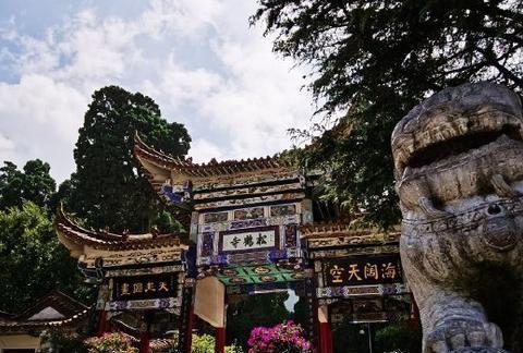 云南这座古寺,离宣威市区约10公里,不要门票,很适合自驾游