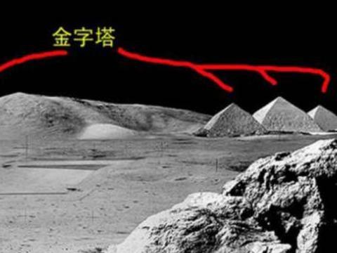 月球背面隐藏着金字塔?NASA不愿公布的照片,究竟隐藏着什么?