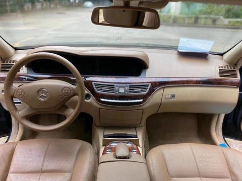 12款奔驰S350售价9万,外观奢华大气,内部豪华尊贵