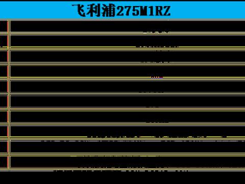 170Hz+高色域 飞利浦猛腾M1电竞显示器275M1评测