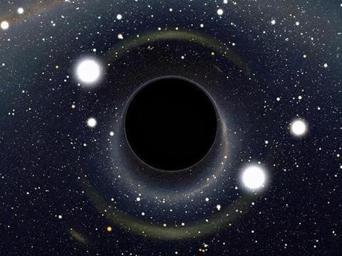如果黑洞进入虫洞,会发生什么?还真有人做了模拟实验