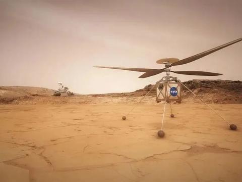 机智号火星直升机,即将翱翔于火星天空,人类首架外星受控飞机!