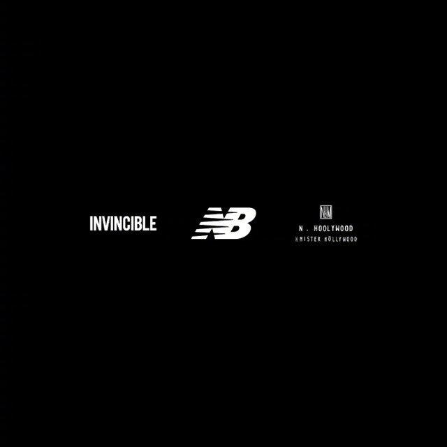 New Balance x INVINCIBLE x N.HOOLYWOOD 全新三方联名鞋款曝光