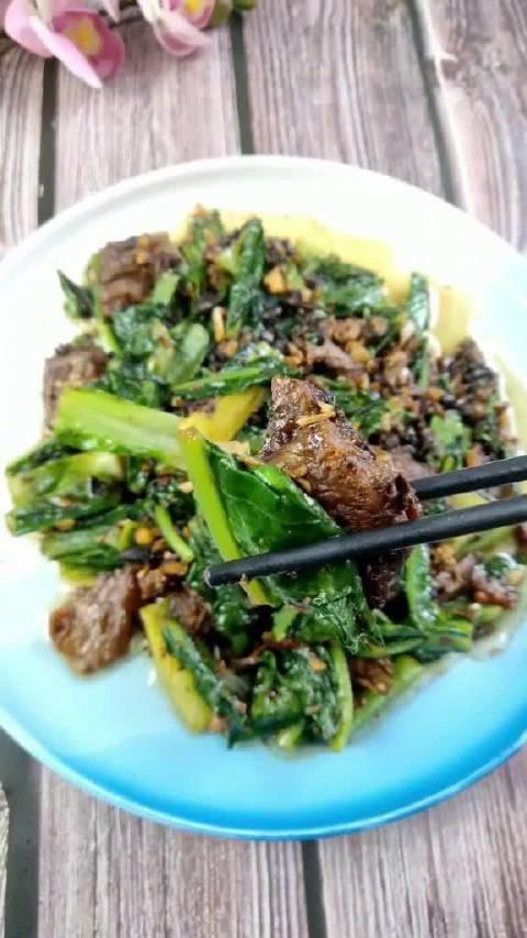 豆豉鲮鱼油麦菜,吃过的人都说好,你学会了吗?