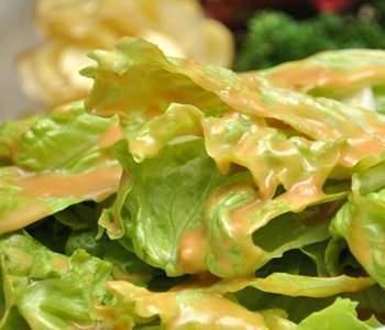 天气转热的清爽凉拌菜,低脂低热量又美容养颜,芝麻酱拌生菜
