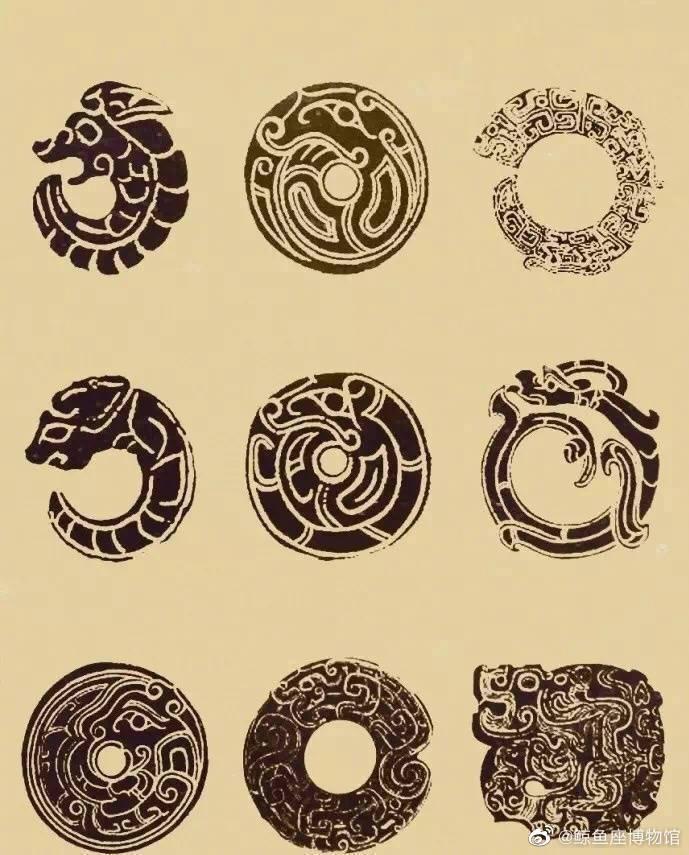 中国传统玉石拓片。有你们喜欢的吗?