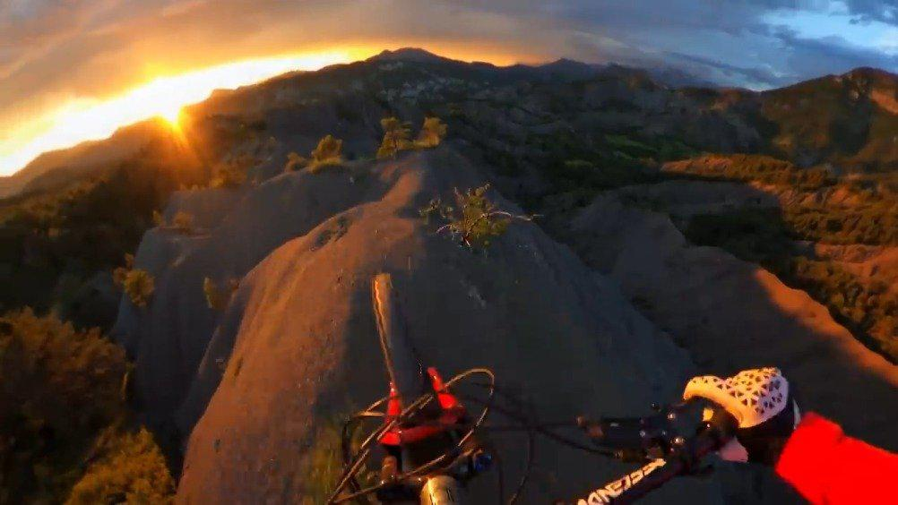 日落山脊·超绝山地车速降