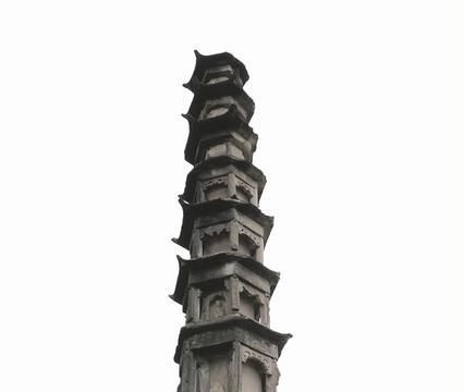 四川西充惜字塔社区:见证文字信仰