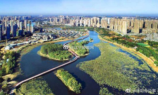 沈阳后花园——沈北蒲河生态廊道正式建成开放