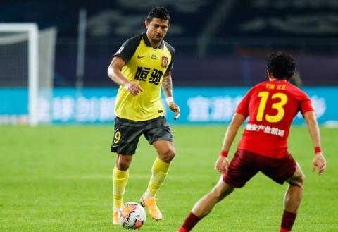 看好广州恒大足球俱乐部拿到中超争冠组下半区第一名