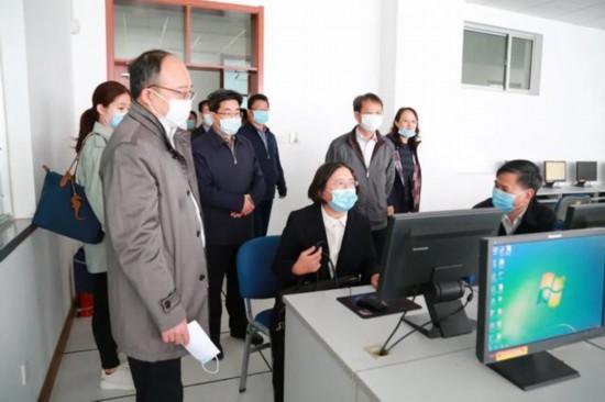 司法部法律职业资格考试检查组来济检查工作