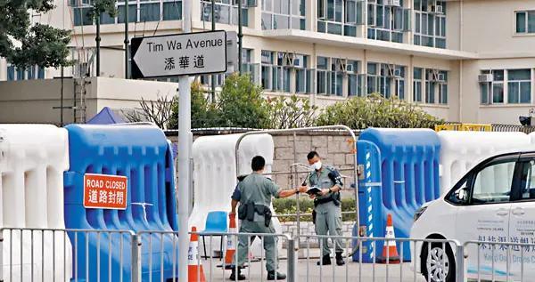 港媒:香港国安法震慑暴徒 警方将拆除全部警署外水马