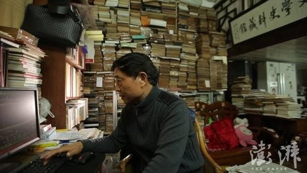 藏书家瞿永发:40年买书没买房,不后悔