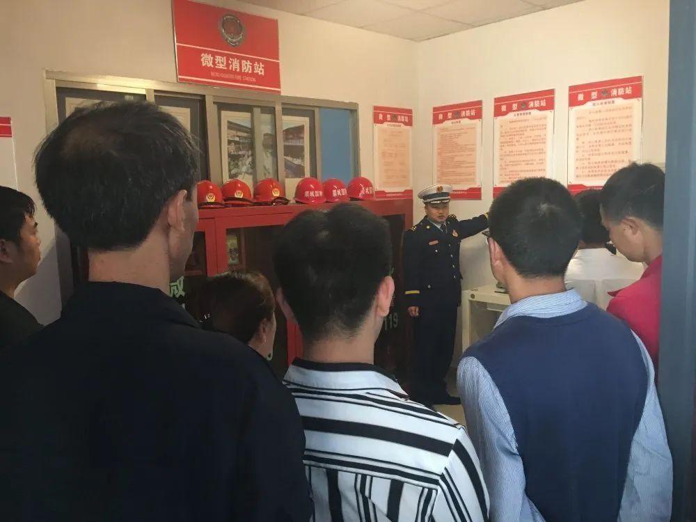 长顺打造小型经营性场所消防安全示范街并召开现场交流会