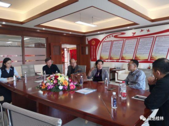 桂林市司法局联合市人大法工委开展基层立法联系点调研工作