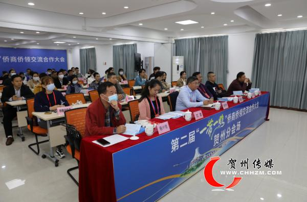 """第二届""""一带一路""""侨商侨领交流合作大会开幕式在南宁举行"""