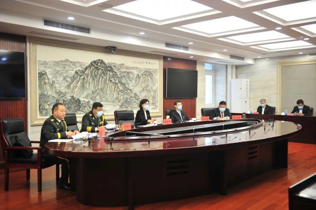 房山区召开2020年党管武装工作会议