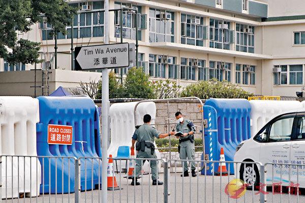 香港国安法震慑暴徒 警方将拆除全部警署外水马