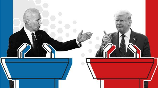 总统候选人最后一场辩论:拜登再也不怕发言被打断了