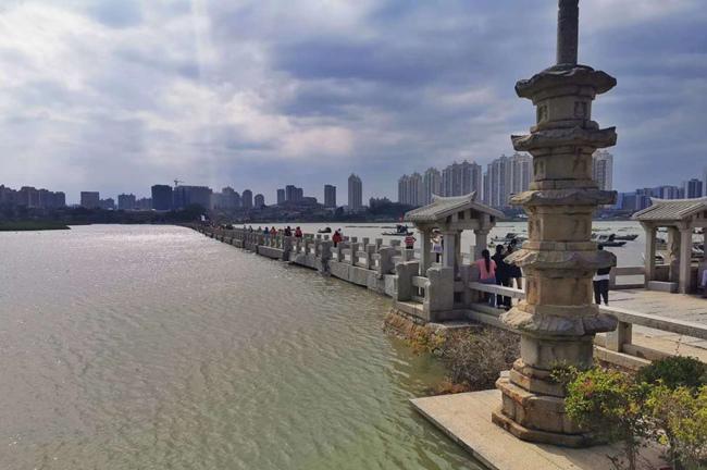泉州:洛江观潮